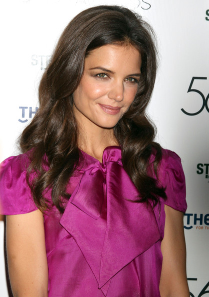 More Pics of Katie Holmes Gold Bracelet (1 of 12) - Bracelets Lookbook - StyleBistro