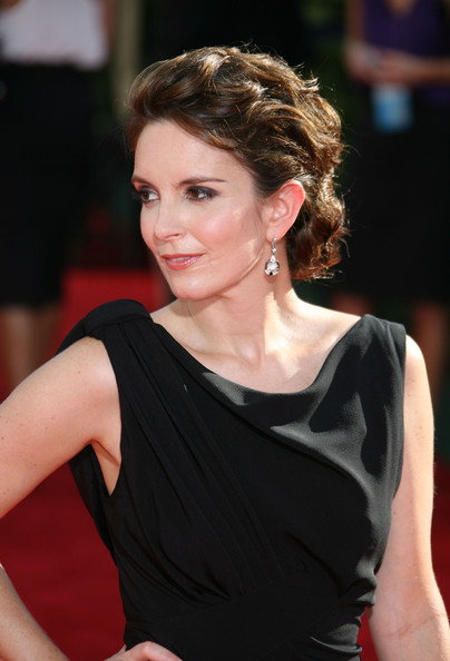 More Pics of Tina Fey Sterling Dangle Earrings (1 of 4) - Tina Fey Lookbook - StyleBistro