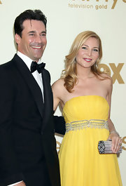 Jennifer Westfeldt carried a super-luxe jewel-encrusted clutch when she attended the 2011 Primetime Emmy Awards.