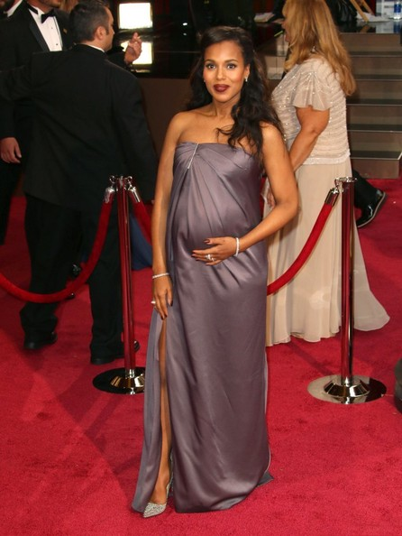 More Pics of Kerry Washington Strapless Dress (1 of 4) - Kerry Washington Lookbook - StyleBistro