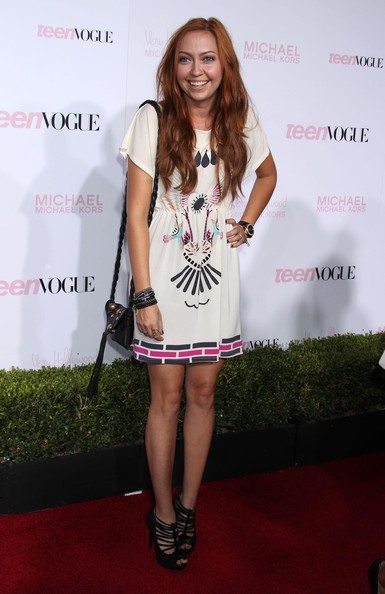 More Pics of Brandi Cyrus Day Dress (1 of 4) - Brandi Cyrus Lookbook - StyleBistro