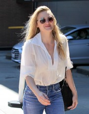Amanda Michalka went shopping in Beverly Hills rocking a pair of Dior sunglasses.
