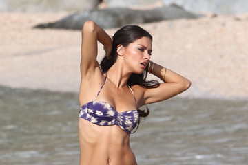 Adriana Lima Returns to St. Barts for a Bikini Shoot
