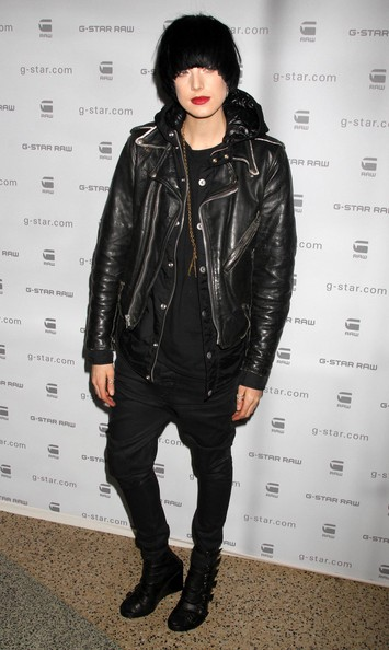 Agyness Deyn Leather Jacket