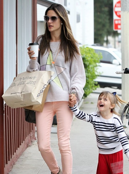 More Pics of Alessandra Ambrosio Skinny Jeans (1 of 11) - Alessandra Ambrosio Lookbook - StyleBistro
