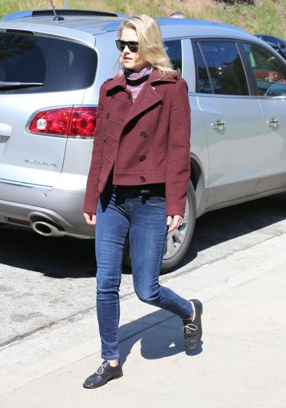 More Pics of Ali Larter Pea Coat (1 of 20) - Pea Coat Lookbook - StyleBistro