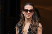 Alicia Vikander Cateye Sunglasses