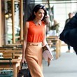 Look of the Day, April 8th: Amal Clooney's Pop of Python