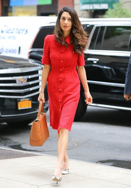 Amal Clooney Single Strap Tote