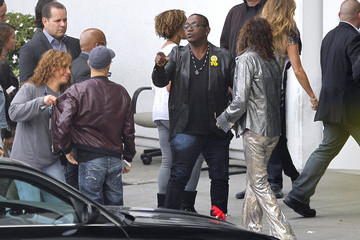 Steven Tyler Jennifer Lopez 'American Idol' Judges Arriving For Tonights Elimination Show