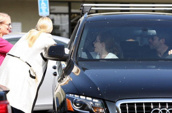 Amy Adams and Her Fiance Leave the Gym — Part 2