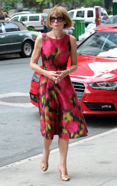 Anna Wintour Dress July 2017