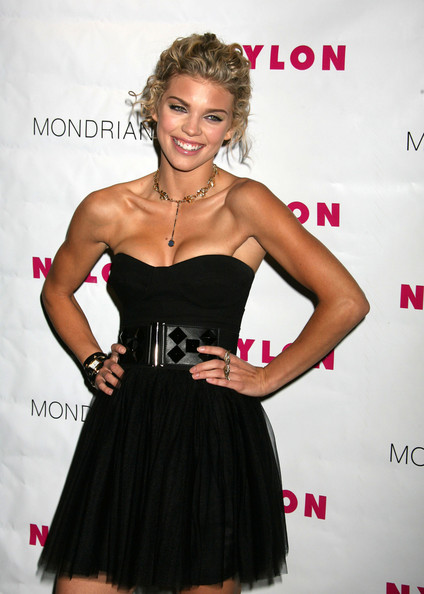 AnnaLynne McCord Leather Belt