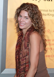 AnnaLynne McCord was fresh-faced and wearing her hair in soft natural curls while at the airport.