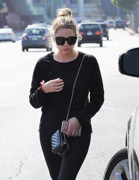 Ashley Benson Oversized Sunglasses