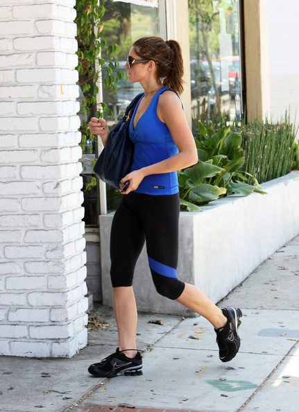 Ashley Greene Running Shoes