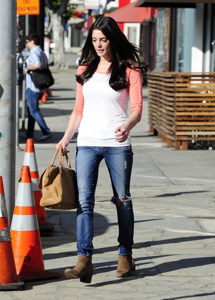 More Pics of Ashley Greene Ankle boots (1 of 20) - Ashley Greene Lookbook - StyleBistro