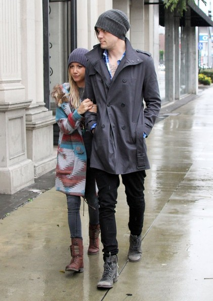 Ashley Tisdale Goes Furniture Shopping With Her Boyfriend