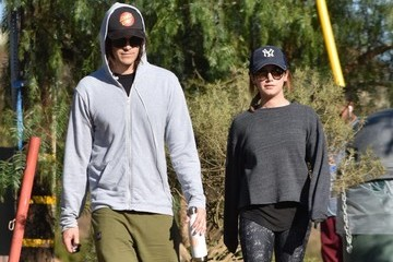 Ashley Tisdale Christopher French Ashley Tisdale And Christopher French Hike In LA