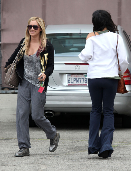 More Pics of Ashley Tisdale Basketball Sneakers (1 of 7) - Basketball Sneakers Lookbook - StyleBistro