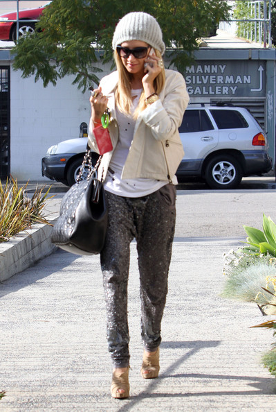 Ashley Tisdale Platform Sandals