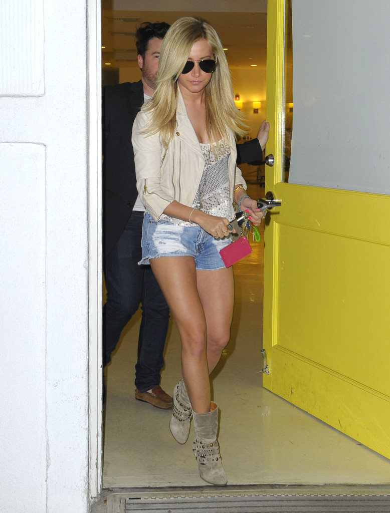 Ashley Tisdale Cropped Jacket Ashley Tisdale Looks