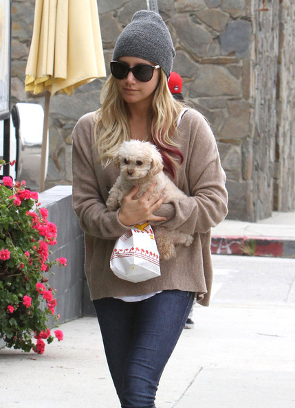 Ashley Tisdale Knit Beanie