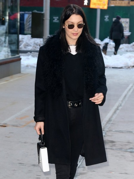 More Pics of Bella Hadid Hiking Boots (1 of 6) - Athletic Shoes Lookbook - StyleBistro