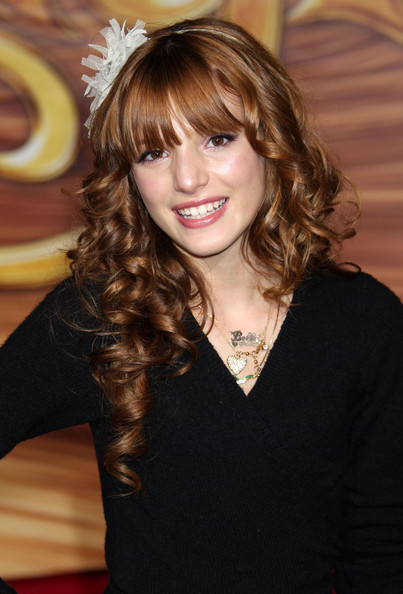 b69cb830 Bella Thorne, Easy to Manage Hairstyles With Bangs - Easy to Manage ...