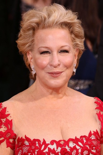 Bette Midler Messy Cut [hair,face,hairstyle,facial expression,eyebrow,chin,blond,skin,beauty,ringlet,blond,celebrities,hair,hairstyle,face,expression,hollywood,hollywood highland center,california,86th annual academy awards,marilyn monroe,86th academy awards,blond,bangs,hairstyle,fashion,hair,model]