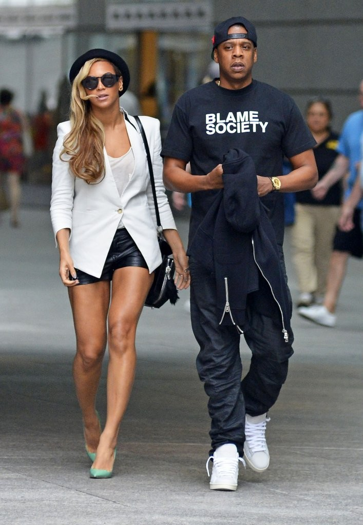 Beyonces Cool Date Night Style Look Of The Day Livingly