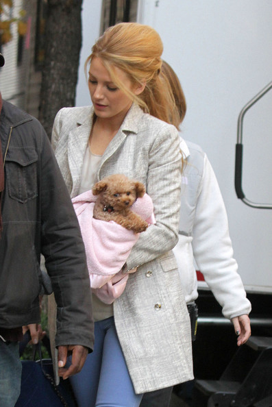 Blake Lively Pea Coat