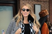Blake Lively Round Sunglasses