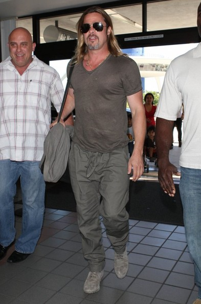 Brad Pitt Leaves LA — Part 2