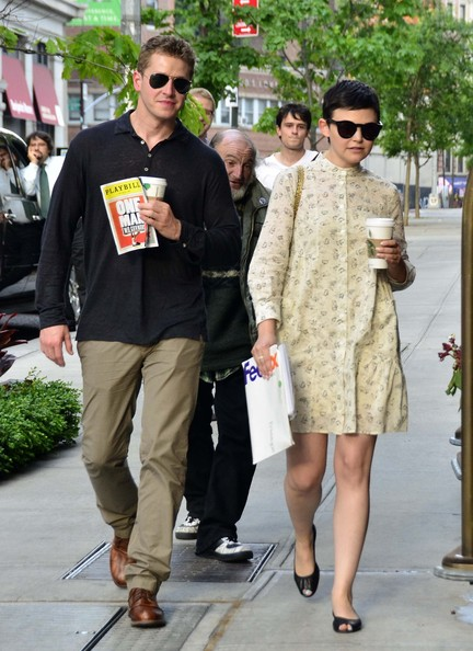 More Pics of Ginnifer Goodwin Shirtdress (1 of 5) - Shirtdress Lookbook - StyleBistro