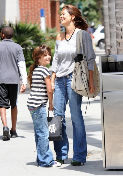 Brooke Burke Leather Shoulder Bag