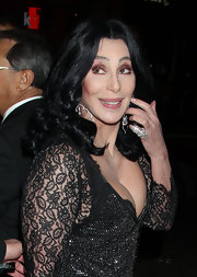 Cher continues to amaze us with her astounding beauty. The icon showcased her long raven curls at the 'Burlesque' premiere in LA.