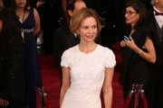Calista Flockhart Beaded Dress