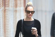Candice Swanepoel Studded Shoulder Bag