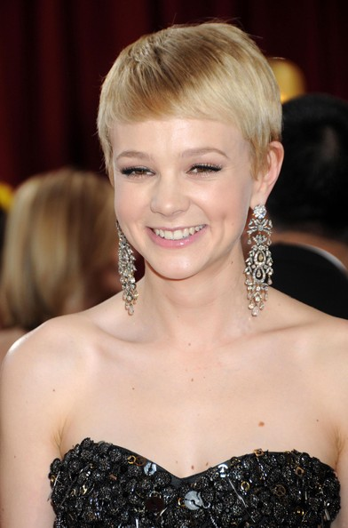 Carey Mulligan Diamond Chandelier Earrings