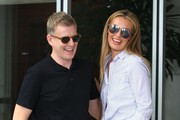 Cat Deeley Aviator Sunglasses