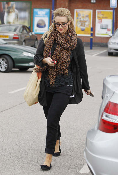 More Pics of Catherine Tyldesley Embellished Flats (1 of 8) - Embellished Flats Lookbook - StyleBistro