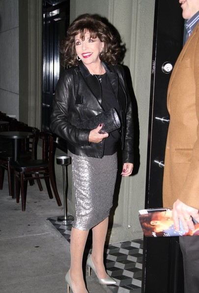 More Pics of Joan Collins Knee Length Skirt (1 of 4) - Joan Collins Lookbook - StyleBistro