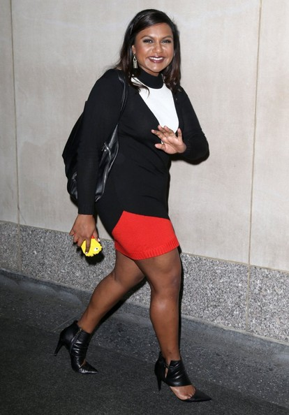 More Pics of Mindy Kaling Cutout Boots (1 of 11) - Boots Lookbook - StyleBistro []
