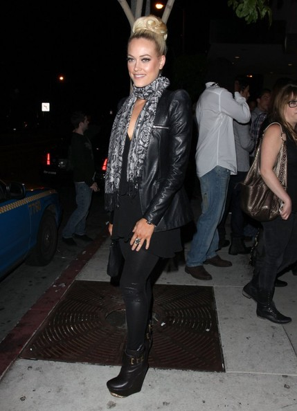 More Pics of Peta Murgatroyd Leather Jacket (1 of 4) - Leather Jacket Lookbook - StyleBistro