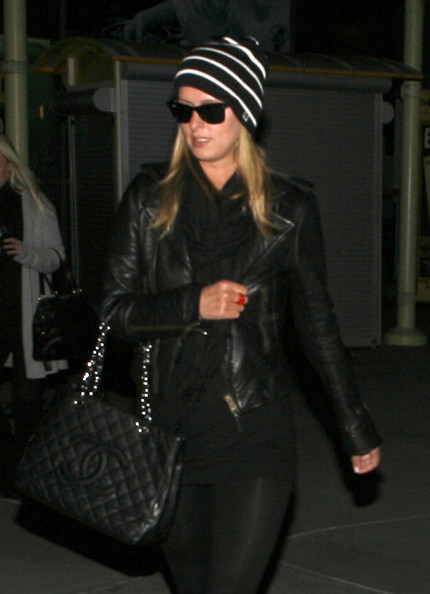 More Pics of Nicky Hilton Knit Beanie (1 of 3) - Nicky Hilton Lookbook - StyleBistro