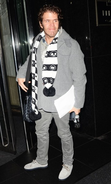 More Pics of Perez Hilton Patterned Scarf (1 of 3) - Perez Hilton Lookbook - StyleBistro