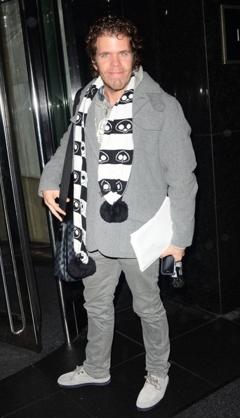 More Pics of Perez Hilton Patterned Scarf (2 of 3) - Perez Hilton Lookbook - StyleBistro