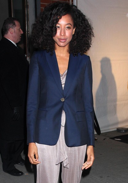 More Pics of Corrine Bailey Rae Medium Curls (1 of 2) - Corrine Bailey Rae Lookbook - StyleBistro