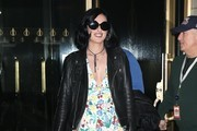 Rumer Willis Leather Jacket
